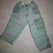 Baby Gap 3yr Pants Boys Khaki/green Photo
