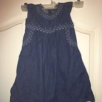 Baby Gap 4t Denim Dress Photo