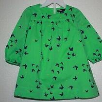 Baby Gap 6-12 Months Green Dress With Matching Diaper Cover Photo