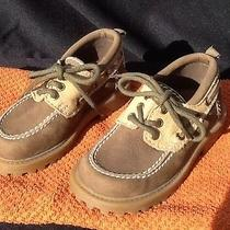Baby Gap 7 8 Boy Toddler Khaki Tan Leather Wed Party Dress Loafer Shoe Brazil Photo