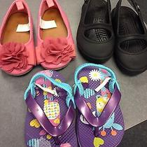 Baby Gap and Crocs Infant Shoes Photo