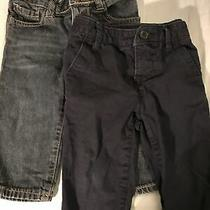 Baby Gap Baby Boy 12-18 Months Toddler Original Fit Jeans and Khakis Lot Photo