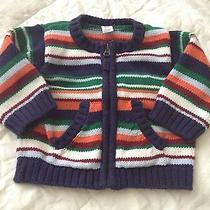 Baby Gap Baby Boy Sweater Jacket 3-6 Months Old  Photo
