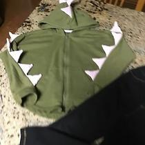Baby Gap Black Jeggins & Cat & Jack Front Zip Hooded Sweatshirt Size 5 Photo