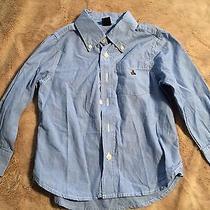 Baby Gap Blue Boys 'Teddy Bear' Long Sleeve Shirt Size 4 Euc Photo