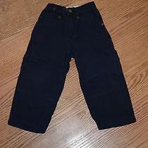 Baby Gap Blue Cargo Pants Boys Baby 3 Euc Photo
