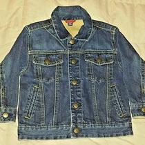 Baby Gap Blue Jean Jacket Toddler Boy Size 4 Years  Mint Condition  Photo