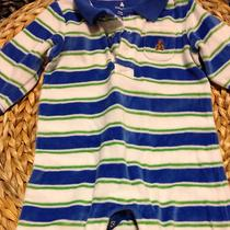 Baby Gap Blue Romper 3-6 Month Photo