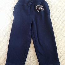 Baby Gap Boy Navy Athletic Sweatpants Size 3t With Pockets Photo