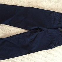 Baby Gap Boy Navy Worker Chino Cotton Pants Size 3 Photo