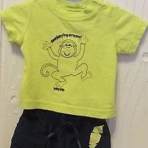 Baby Gap Boy Outfit Set Infant to 3 Month  Monkeying Around Photo