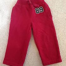 Baby Gap Boy Red Athletic Sweatpants Size 2t Photo