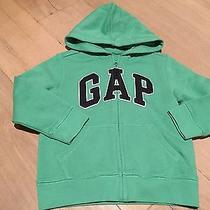 Baby Gap Boy's Full Zip Hoodie Sweatshirt Size 2t Nwt Green Photo