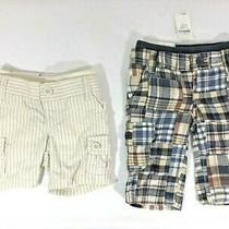 Baby Gap Boy's Plaid Pants and Shorts Lot Size 0-3 Months - New Photo
