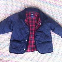 Baby Gap Boys 18-24 Months Jacket Flannel Lined Photo