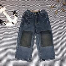 Baby Gap Boys Adjustable Waist Patched Jeans 3 Years Selling Tons Photo