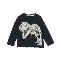 Baby Gap Boys Black Long Sleeve T-Shirt 4t Photo