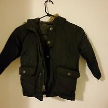 Baby Gap Boys Black Puffer Coat Toddler Size 4 Photo