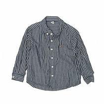 Baby Gap Boys Blue Long Sleeve Button-Down Shirt 4 Photo