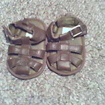 Baby Gap Boys Brown  Sandals Size 1 Photo