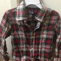 Baby Gap Boys Button Down Shirt Size 3  Photo