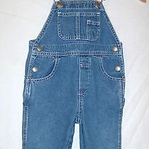 Baby Gap  Boys / Girls  Carpenter Blue Jean Overalls  Size 1 Photo