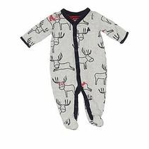 Baby Gap Boys Gray Long Sleeve Outfit 0-3 Months Photo