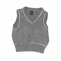 Baby Gap Boys Gray Sweater Vest 3-6 Months Photo
