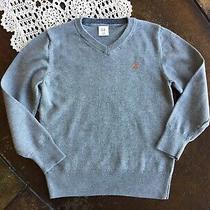 Baby Gap Boys Gray v-Neck Sweater Size 5 Years Photo