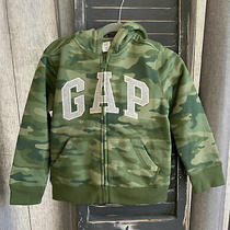 Baby Gap Boys Hoodie  Camo  5 Years  Nwt  Zip Up Hooded Sweatshirt Photo