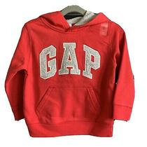 Baby Gap Boys Hoodie  Red / Grey  4 Years  Nwt  Hooded Sweatshirt  Unisex Photo
