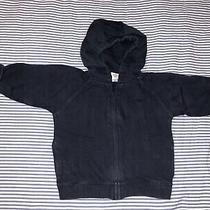 Baby Gap Boys Navy Blue Zippered Hoody Sweatshirt 12-18 Months Selling Tons Top Photo