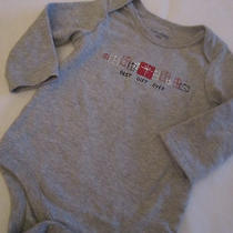 Baby Gap Boys One-Piece Holiday Bodysuit Nwot 3-6 Mths Best Gift Ever  Photo