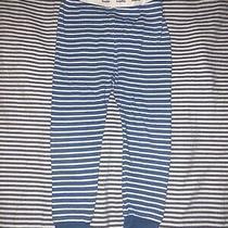 Baby Gap Boys Pajama Pants Pjs 2 Years Nautical Blue White Stripes Selling Tons Photo