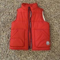 Baby Gap Boys Red Vest Size 4 Photo