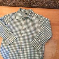 Baby Gap Boys Size 4 Adorable Checked Button Front Shirt  Photo