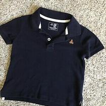 Baby Gap Boys Toddler Navy Blue Polo Size 18-24 Months  Photo