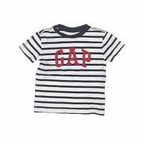 Baby Gap Boys White Short Sleeve T-Shirt 18-24 Months Photo