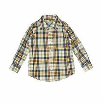 Baby Gap Boys Yellow Long Sleeve Button-Down Shirt 4 Photo