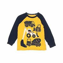 Baby Gap Boys Yellow Long Sleeve T-Shirt 4t Photo