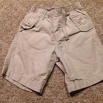 Baby Gap Boys Youth Size 4 Khaki Drawstring Shorts Elastic Waist Photo