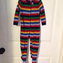 Baby Gap Boys Zip Up Sleeper With Feet 18-24 Months Photo