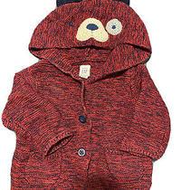 Baby Gap Brannan Bear Dog Hoodie Sweater Size 3-6 Months Photo