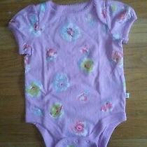 Baby Gap Brannan's Favorites Baby Girl's Purple Bodysuit Size 3-6 Months Photo