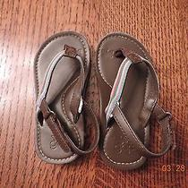 Baby Gap Brown Baby Girl Sandalseuc Photo
