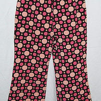 Baby Gap Brown Pastel Pinks Polka Dots Pants 3t Like New Euc Photo