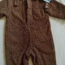 Baby Gap Brown Sherpa Two Piece Teddy Bear Costume 2t 2 Years Photo