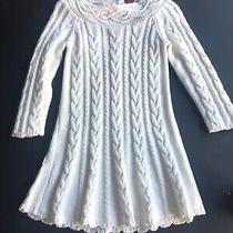 Baby Gap Cable Knit Cream Dress 3 Toddler Photo
