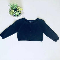 Baby Gap Cardigan in Navy Blue Long Sleeve Button Down Photo