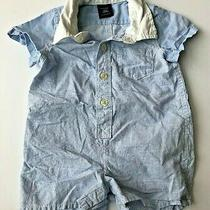 Baby Gap Checkered One Piece Outfit Size 0-3 Months Photo